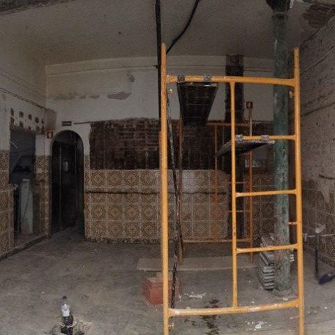 Obra de Reabilitação de espaço de restauração