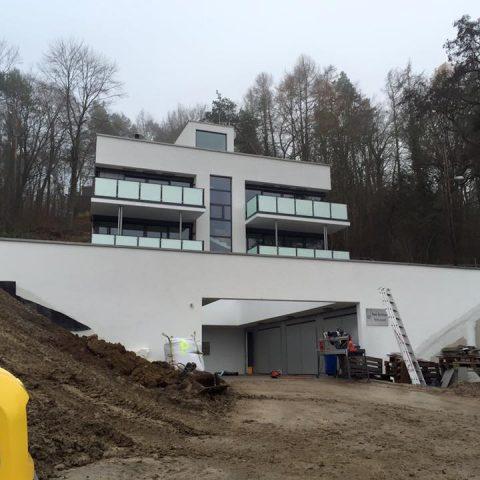 Obra de edifício multifamiliar em Würzburg finalizada